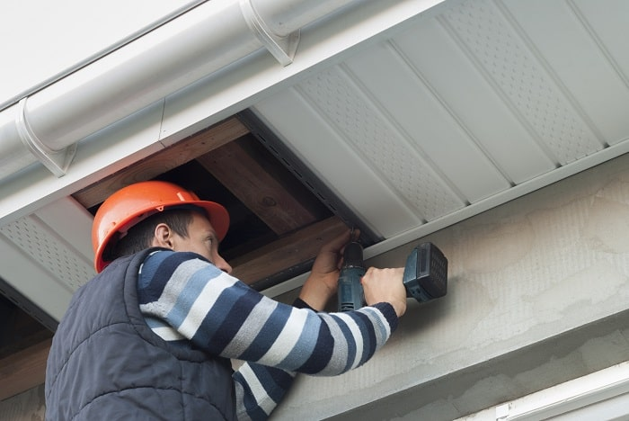 soffit installation and repairs toronto